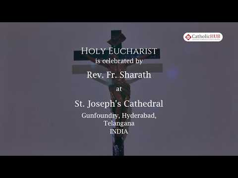 English Mass @ St. Joseph's Cathedral, Gunfoundry, HYD, TS, IND. 6-2-2020