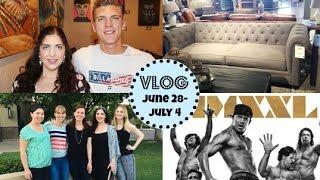 Honeybee Vlog Cam: Brian's Birthday, Magic Mike Xxl, Furniture Shopping