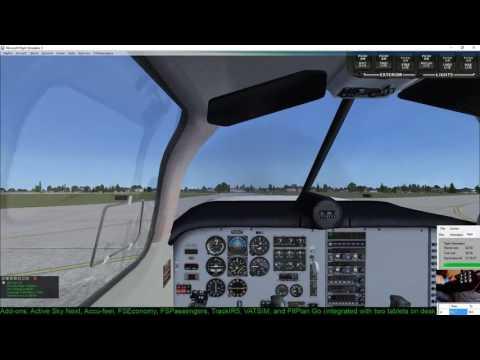 #12 VATSIM Realistic IFR General Aviation Flights MO20 KCLT to KLUX