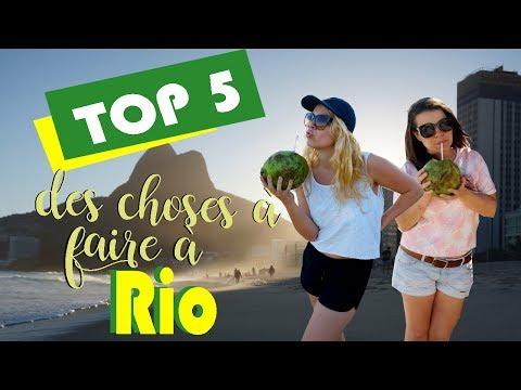 TOP 5 des choses à faire à Rio De Janeiro - Brésil !