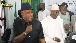 Just In : Atiku, Saraki, Dino Others Steal Show at PDP NEC Meeting, Mock, Buhari, APC