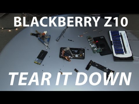 BlackBerry Z10: Tear It Down | Mashable