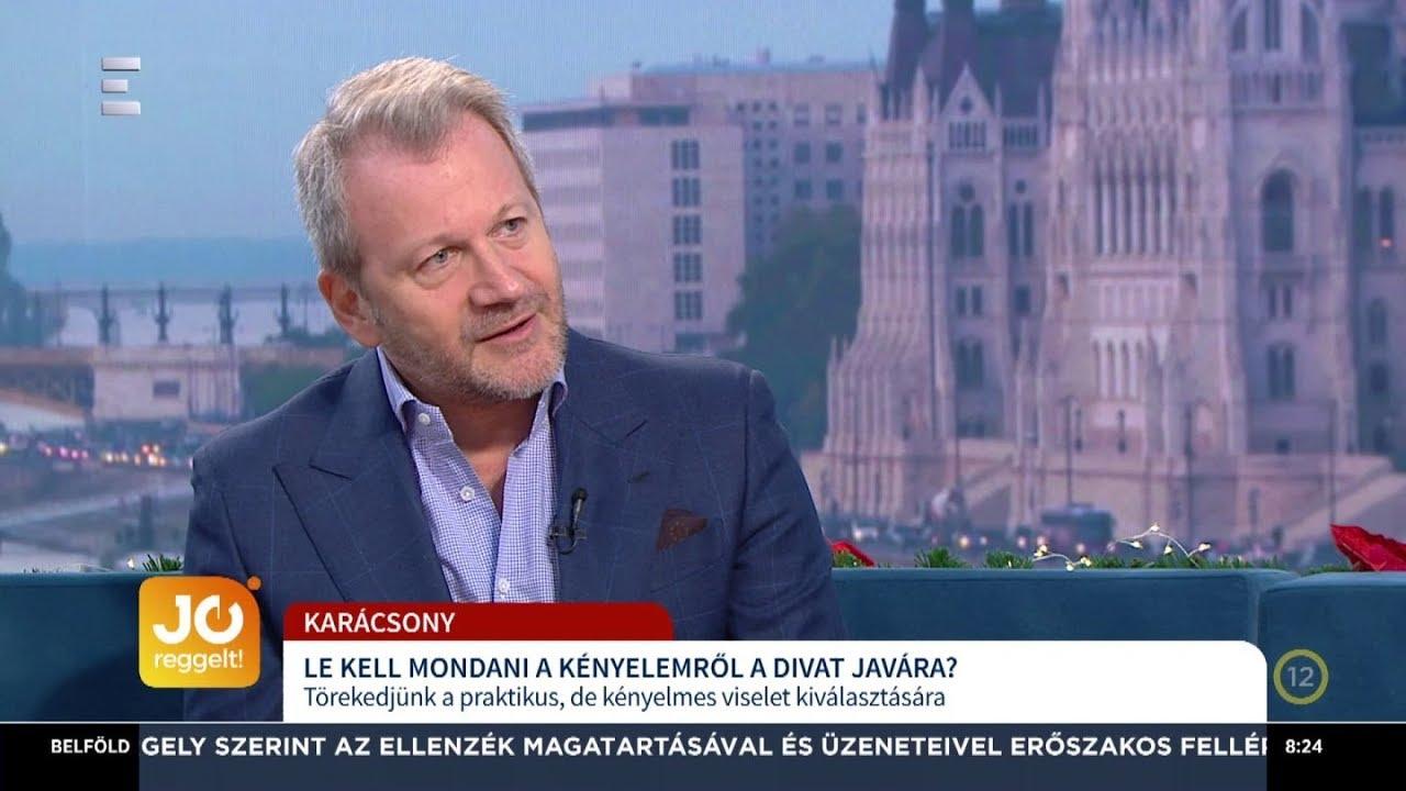 e245512304 A mackónadrágtól az öltönyig - Schiffer Miklós - ECHO TV - YouTube