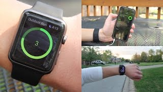 Running with the Apple Watch (Sport)