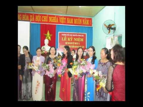 Ngày Nhà giáo Việt Nam 2013 trường Nguyễn Công Sáu