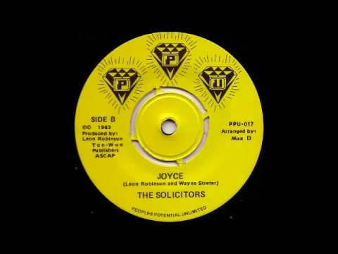 The Solicitors - Joyce (B-Side Vers)