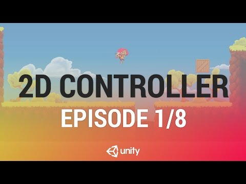 2D Platformer Character Controller - Introduction and Session Goals [1/8] Live 2017/2/22