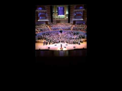 Mr Blue Sky. Rock Choir. Birmingham Symphony Hall 19/7/2014