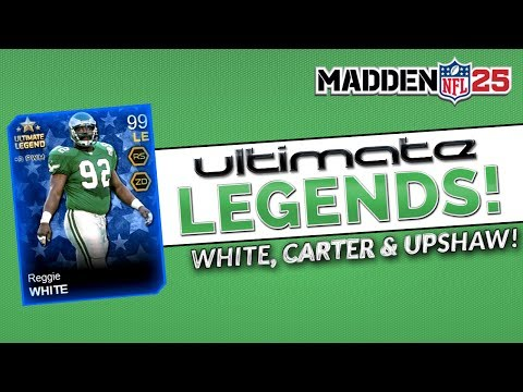 MUT 25 - Ultimate Legend Reggie White, Cris Carter and Gene Upshaw - Madden 25 Ultimate Team