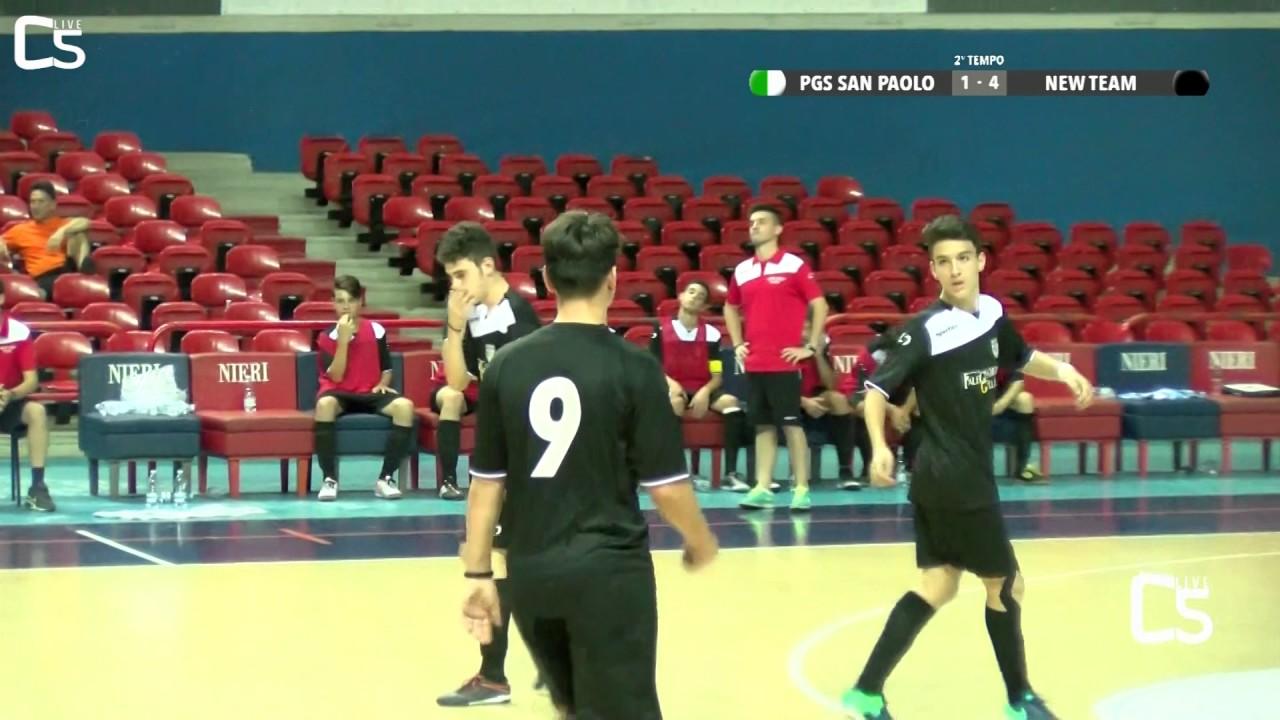 final eight giovanili - giovanissimi: pgs club san paolo - new