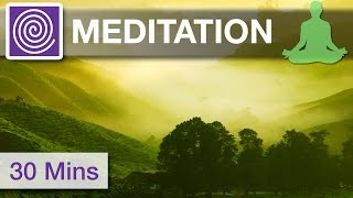30 Minutes ☯ Third Eye Opening, Balancing Music, Soothing Music, Meditation Music for Clear Mind