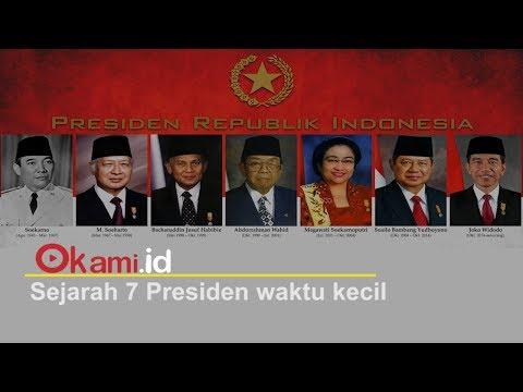 Masa Kecil 7 Presiden , dari Soekarno hingga Jokowi