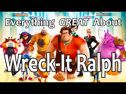 Everything GREAT About Wreck-It Ralph!