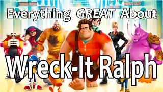 everything great about wreck it ralph