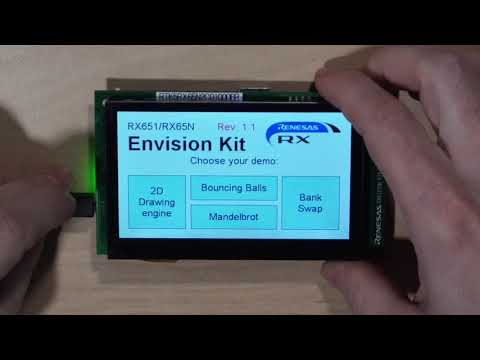 Unboxing the Renesas RX65N Envision Kit