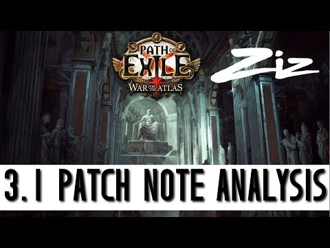 Zizaran's 3.1 Patch Notes Analysis