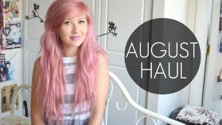HUGE August Haul // Missguided, Motel, Yayer, BANK etc.