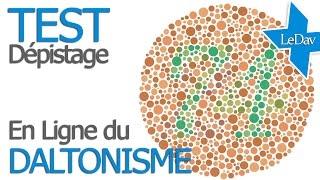 TEST de dépistage du DALTONISME : enchroma.com Test En ligne