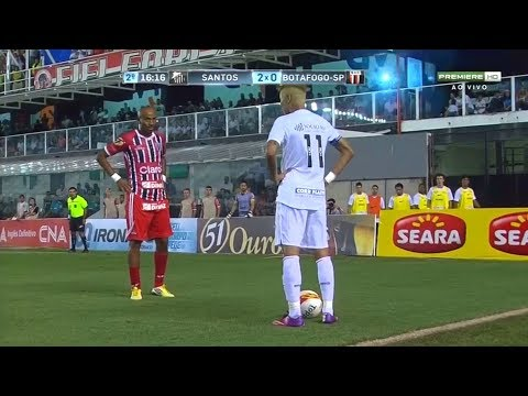 Neymar TOP 25 Skills | Santos 2013