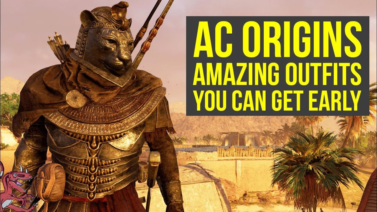 Assassin S Creed Origins Tips Amazing Outfits You Can Get Early In