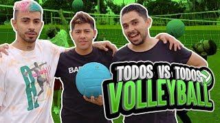 YouTubers VS Volleyball extremo. Lo más divertido del año