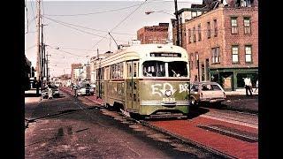 Philadelphia -- Route 11 PCC Streetcar Scenes