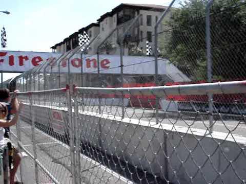 F1 cars at Tampa Grand Prix