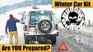Winter Car Emergency Survival Kit -- IS YOUR FAMILY PREPARED??? | 13 Lucky Items For Winter Driving