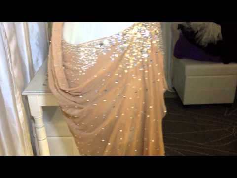 BALLROOM DRESS for RENT:  Nude Latin Rental