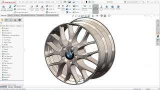 SolidWorks Tutorial BMW Rim