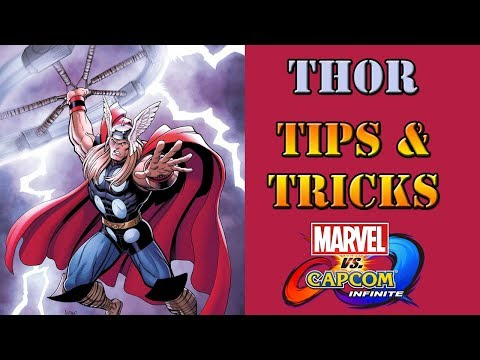 Marvel vs Capcom: Infinite - Thor Tips and Tricks - 동영상
