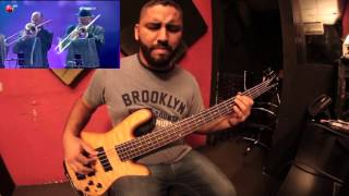 Contra la corriente   Marc Anthony   Josue Cuestas bass cover