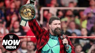 Mick Foley announces new WWE Title: WWE Now India