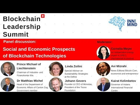 Social and Economic Prospects of Blockchain technologies: panel discussion on #BLS2018