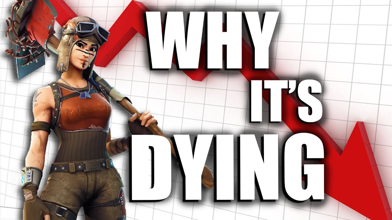 Fortnite is Finally Dying - YouTube