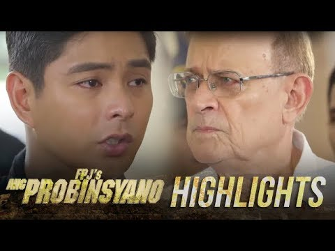 Delfin instructs Cardo and Task Force Agila to remain intact  FPJ&39;s Ang Probinsyano
