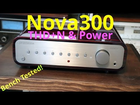 Peachtree Nova300 Stereo Integrated Amplifier Bench Testing - Power & THD+N