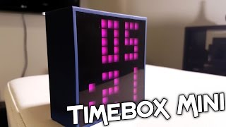 DIVOOM TIMEBOX MINI BLUETOOTH SPEAKER REVIEW!