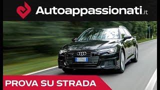 Audi A6 Avant 2019: la prova in anteprima della SW tedesca tutta stile e tecnologia