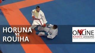 Stanislav Horuna vs Rouiha Abdellah - Karate1 Premier League - Dutch Open 2014