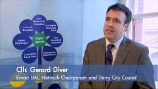 GERARD DIVER - DERRY CITY COUNCIL TALKS AT ERNACT INTERREGIONAL MANAGEMENT COMMITTEE (IMC)