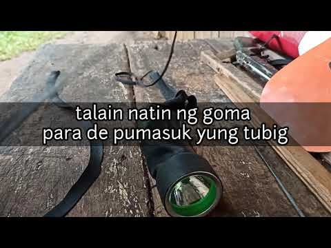 DIY WATERPROOF Under Water FLASHLIGHT FOR SPEARFISHING/ Diving