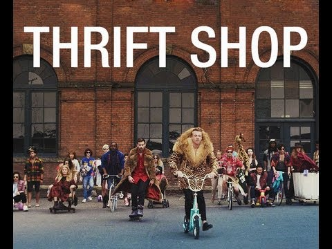 Macklemore & Ryan Lewis - Thrift Shop ft Wanz & Dereleek