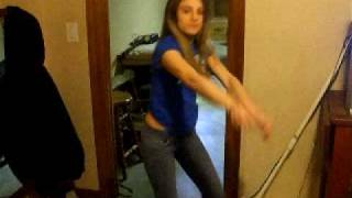 Jericka Dancing To Drop It Low Chris Brown and Ester Dean
