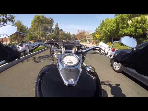 GoPro Hero 3+ Suzuki Boulevard c50 2008 Ride in Mission Viejo