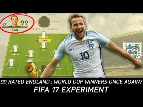 Could a 99 Overall England Team Repeat Their 1966 World Cup Success? - FIFA 17 Experiment