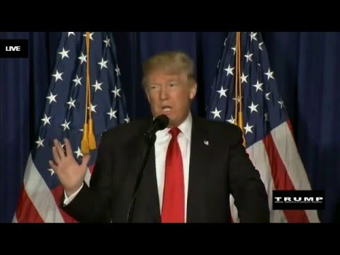 Donald Trump on Foreign Policy Speech 4/27/2016