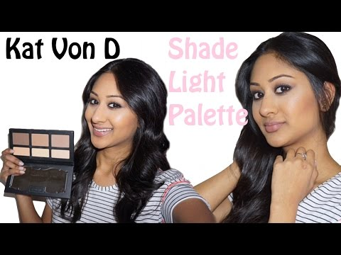 Kat Von D Shade Light Palette: How I Contour and Review | Makeup By Megha