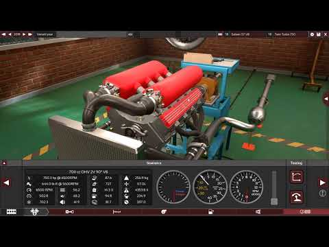 Saleen S7 V8 Boring into a Turner Dream engine in Automation Game E:14
