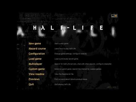 WON (Non-Steam) Half-Life menu was cooler!